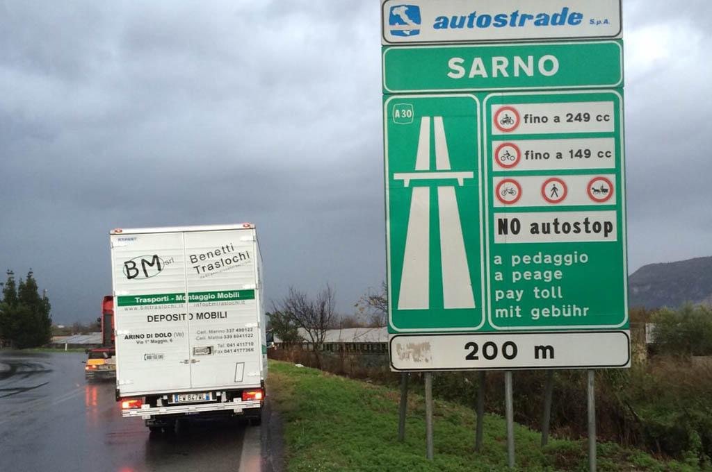 trasloco Taranto Sarno